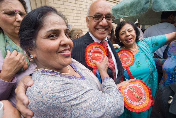 Virendra Sharma, Labour MP for Ealing Southall (C) 2007, Peter Marshall