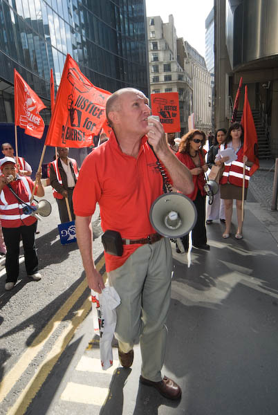 Picket at Lloyd's London